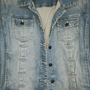 J. Jill Jackets & Coats - J.Jill ~ Sz. L Denim Blue Jean Jacket